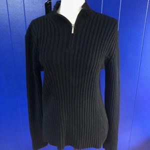 Ralph Lauren 1/4 Zip Pullover NWT Petite L